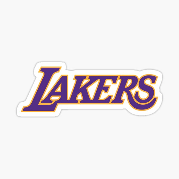 Lakers-los angeles Sticker