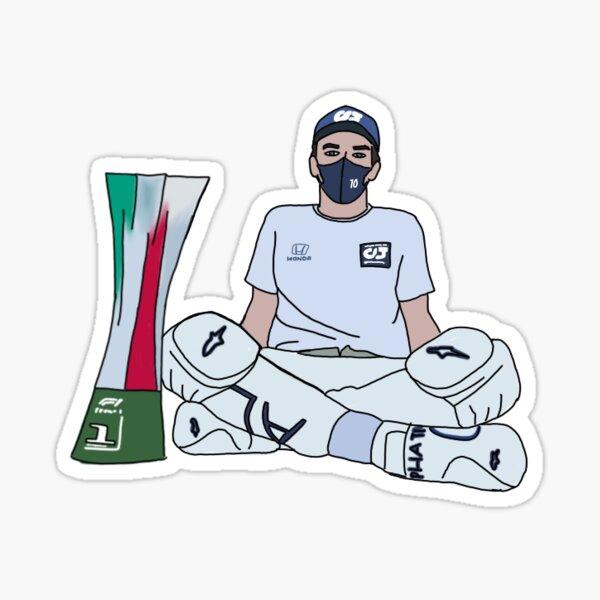 Pierre Gasly - Première victoire! Sticker