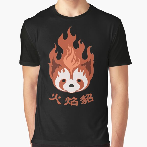Legend of Korra: Fire Ferrets Pro Bending Emblem Graphic T-Shirt