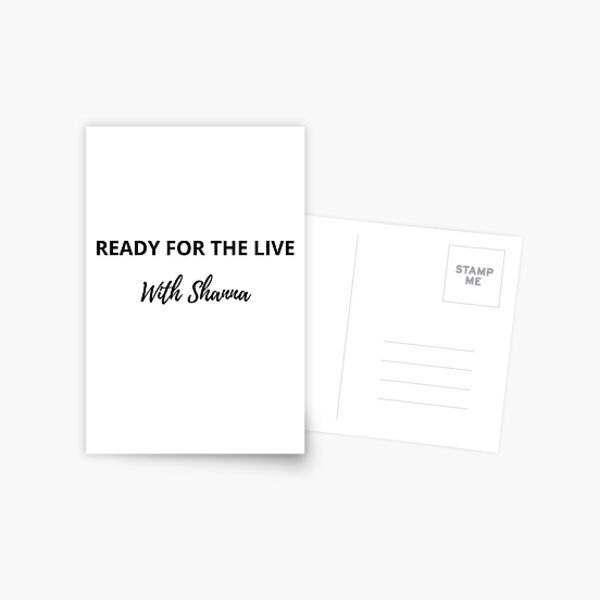 Ready for the Live Postcard