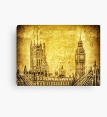 Antique Big Ben Canvas Print