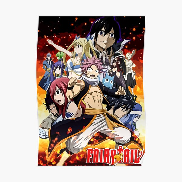 Fairy Tail 12 Poster