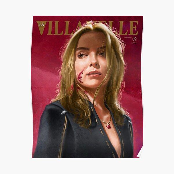 Retrato pintado de Villanelle Póster