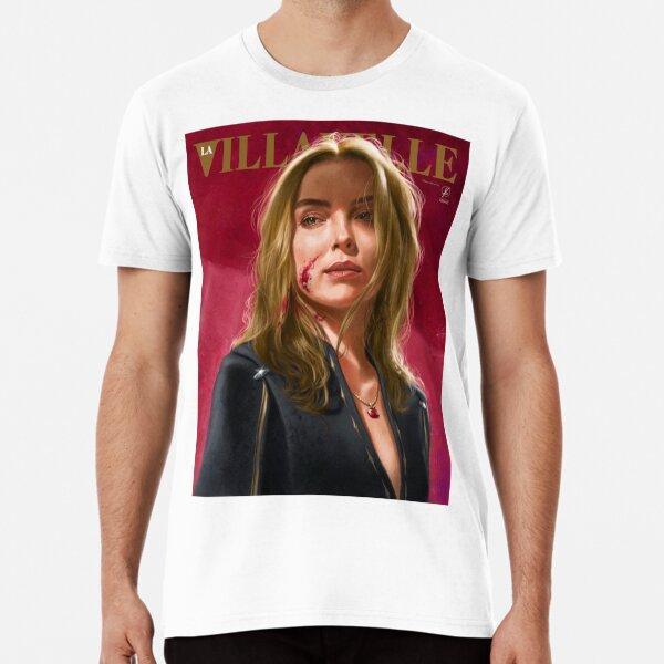 Villanelle Painted Portrait Premium T-Shirt