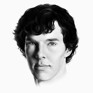 Benedict Cumberbatch by jessvasconcelos