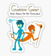 Guardian Ghost- Max and Dave Sticker
