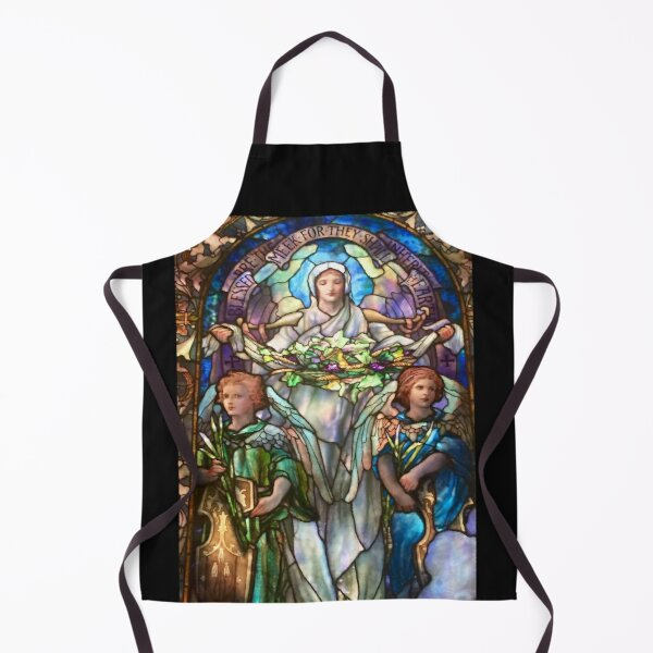 Tiffany Stained Glass Windows: Angels Apron
