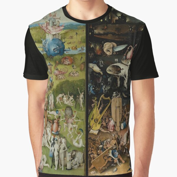 The Garden of Earthly Delights (1) -  Hieronymus Bosch  Graphic T-Shirt