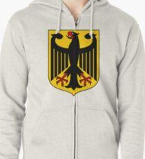 Coat of Arms of Germany  Hoodie mit Reißverschluss