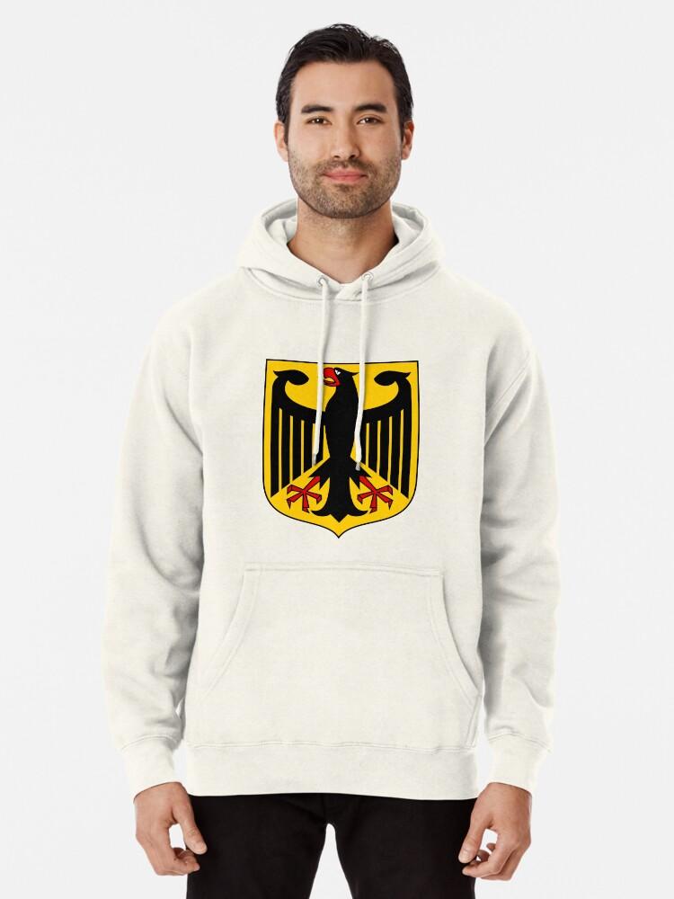 The coat of arms of Germany German Eagle Flag Bundesadler Sweatshirt Hoodie