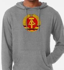 National Emblem of East Germany  Leichter Hoodie