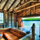 The Boathouse by Bruce Taylor