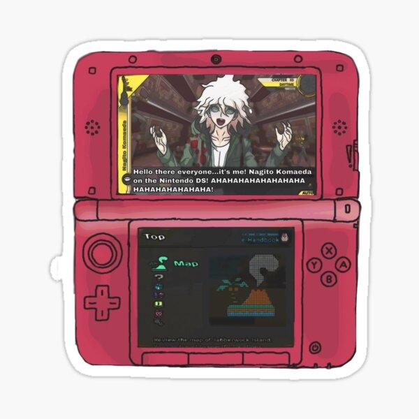 Nagito Komaeda on the Nintendo DS  Sticker