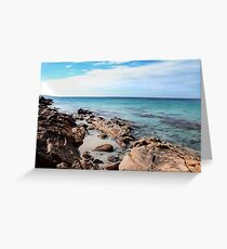 Coastal Blue Greeting Card