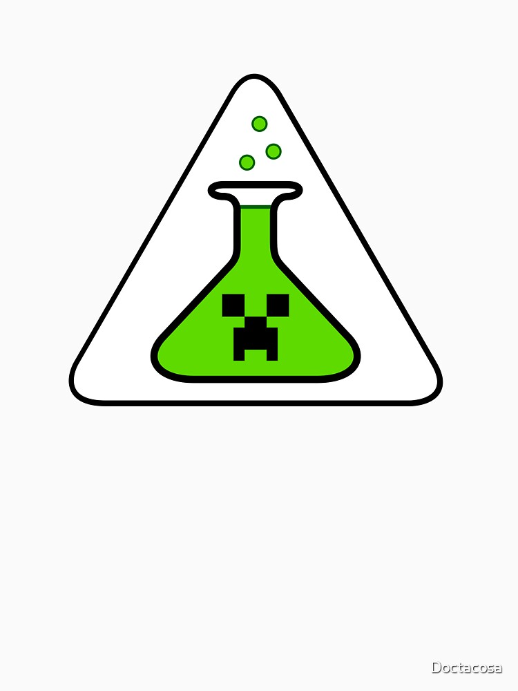 Creeper's Lab beaker by Doctacosa