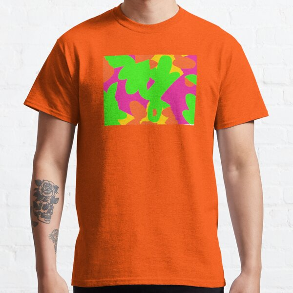 Sprouse inspired day glow print Classic T-Shirt