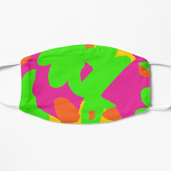 Sprouse inspired day glow print Mask