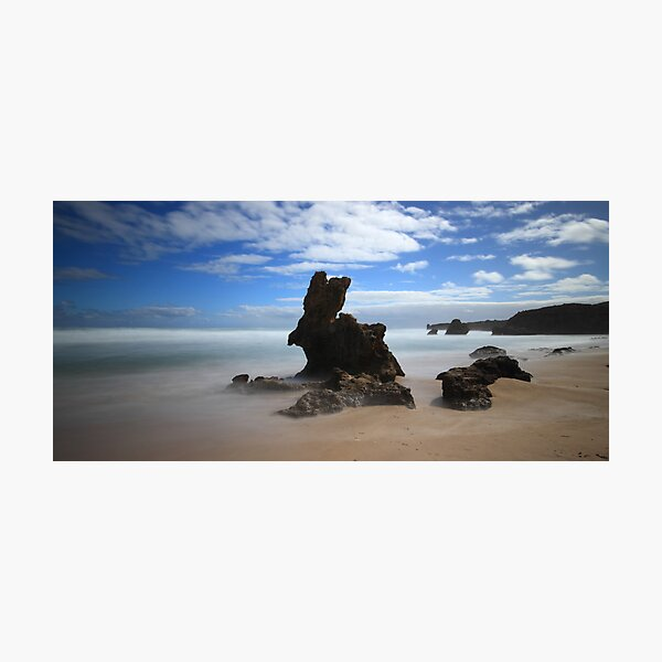 Bunny Rock - Montforts Beach Photographic Print