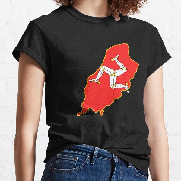Isle Of Man Shirt, Sticker, Máscara Camiseta clásica