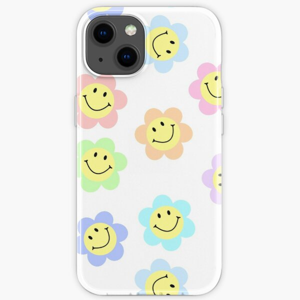 Pastell Smiley Flower Pack iPhone Flexible Hülle
