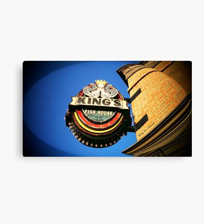KING'S FISH HOUSE Canvas Print
