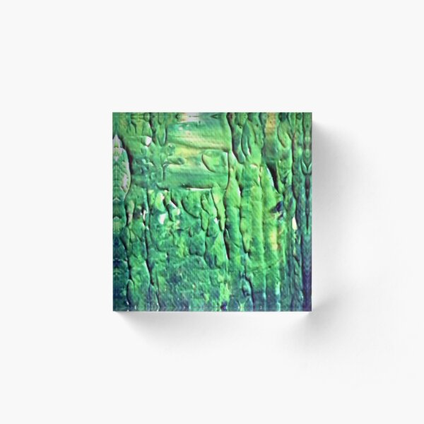 """Energetic Abstractions - """"In The Matrix"""" Acrylic Block"""