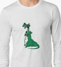 Dragon Fable cool fun design funny cartoon Long Sleeve T-Shirt