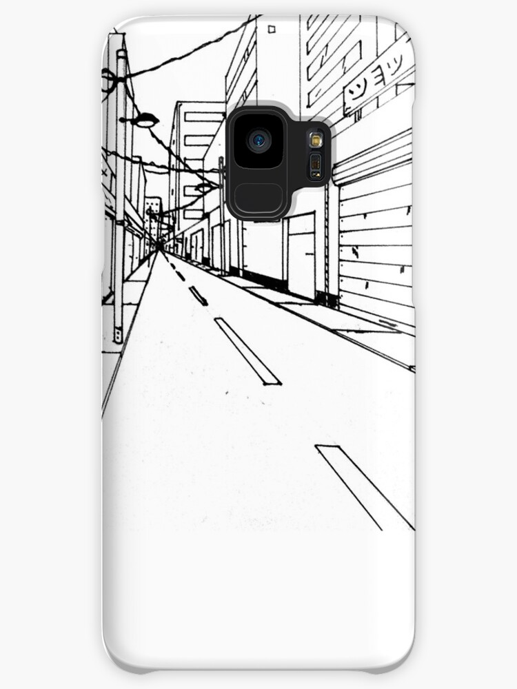 Japanese Street Drawing Cases Skins For Samsung Galaxy By Szab