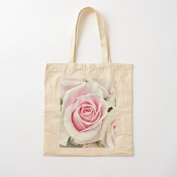 A Rose For My Love Cotton Tote Bag