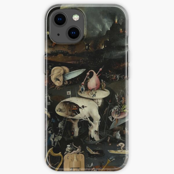 Hell, The Garden of Earthly Delights - Hieronymus Bosch iPhone Soft Case
