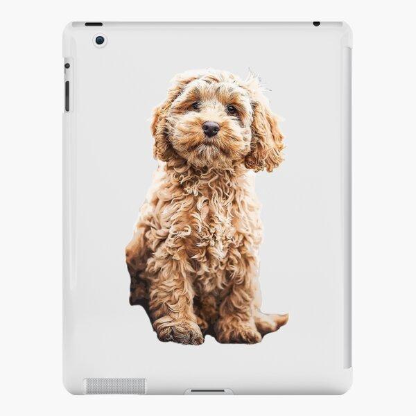Cockapoo Cavoodle Labradoodle Cute Puppy Dog- Poodle x iPad Snap Case