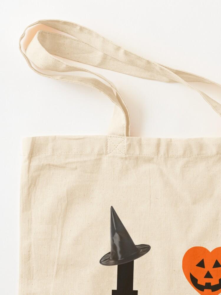 Alternate view of I Love Halloween Tote Bag