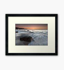 Sunday Sunrise - County Wexford Framed Print