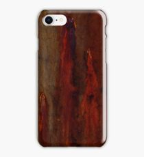 Textures - Bleeding Gums iPhone Case/Skin