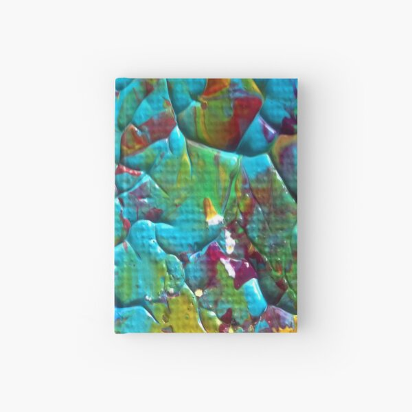"""Energetic Abstractions - """"Colorific"""" Hardcover Journal"""
