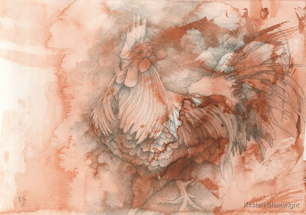 Chinese Zodiac - The Rooster by Kirsten Glenwright