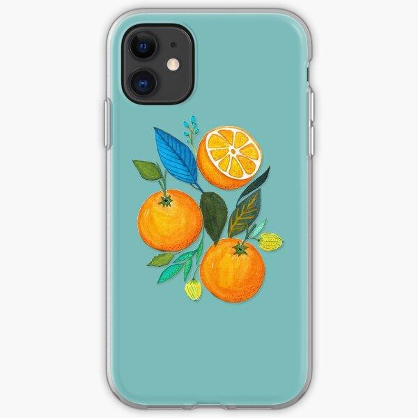 Lady Orange iPhone Soft Case