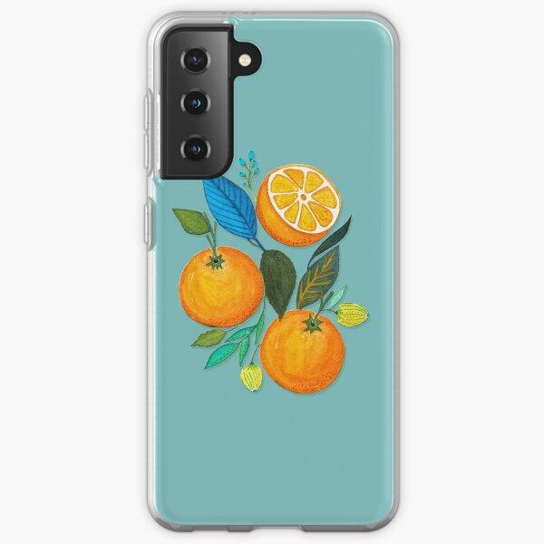 Lady Orange Samsung Galaxy Soft Case