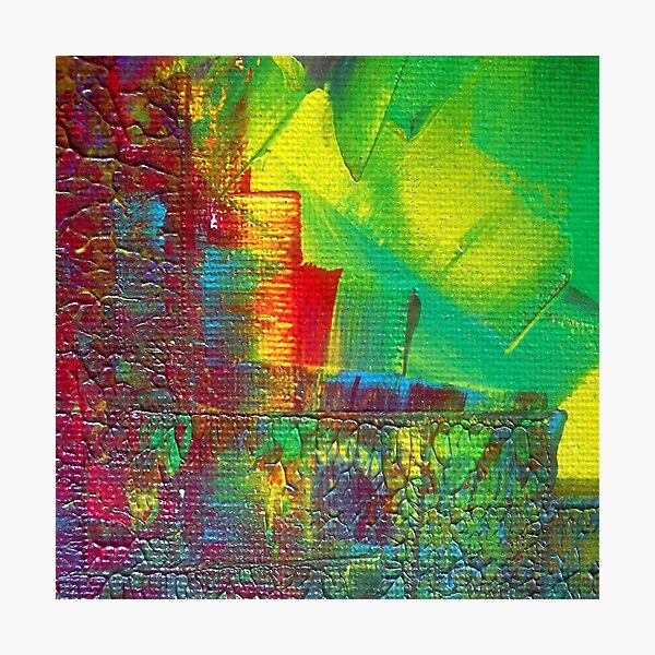 """Energetic Abstractions - """"Colouredge"""" Photographic Print"""