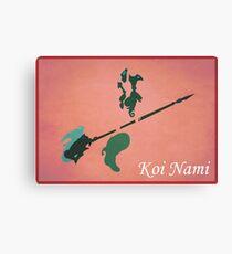 Koi Nami Canvas Print
