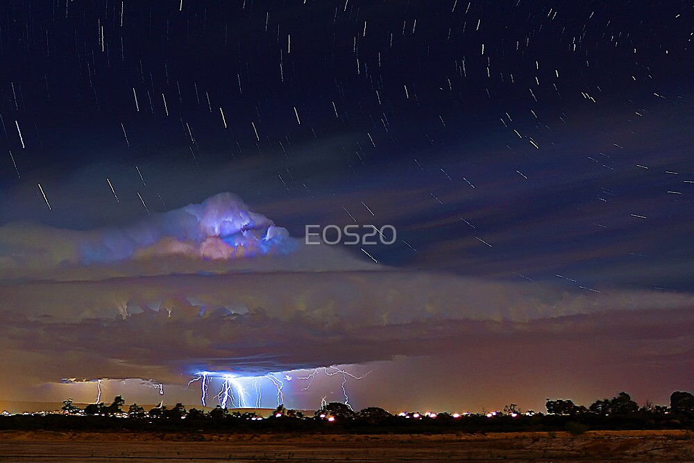 Stormy Startrails  by EOS20