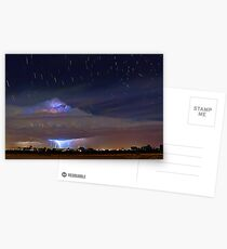 Stormy Startrails  Postcards
