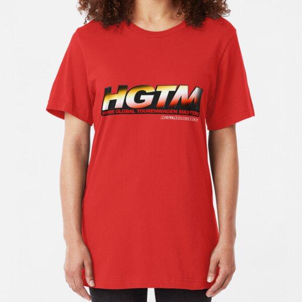 Hyper Global Tourenwagen Masters (HGTM) Logo Dark Slim Fit T-Shirt