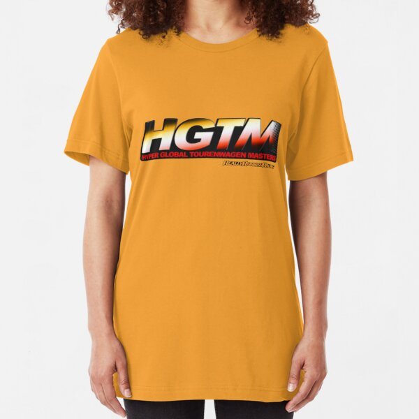 Hyper Global Tourenwagen Masters (HGTM) Logo Light Slim Fit T-Shirt