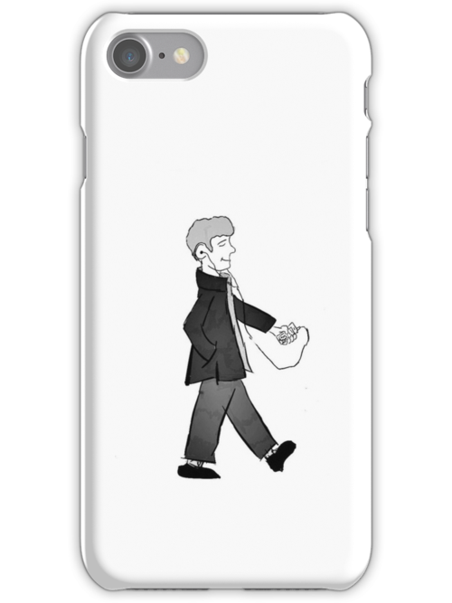 walking iphone cases skins by o3diev redbubble. Black Bedroom Furniture Sets. Home Design Ideas