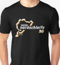 HGTM Nordschleife 90 logo black Unisex T-Shirt