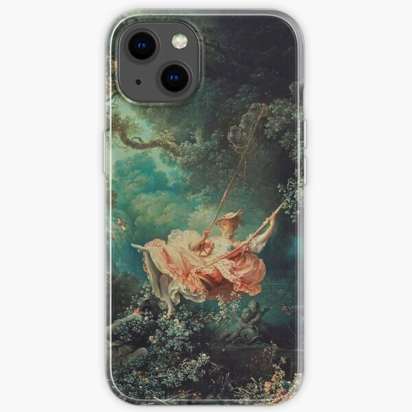 The Swing Painting - Jean-Honoré Fragonard iPhone Soft Case