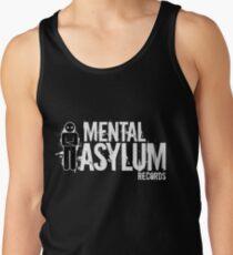 Mental Asylum White Logo Tank Top