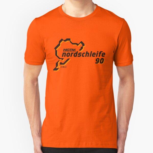 HGTM Nordschleife 90 logo flame Slim Fit T-Shirt