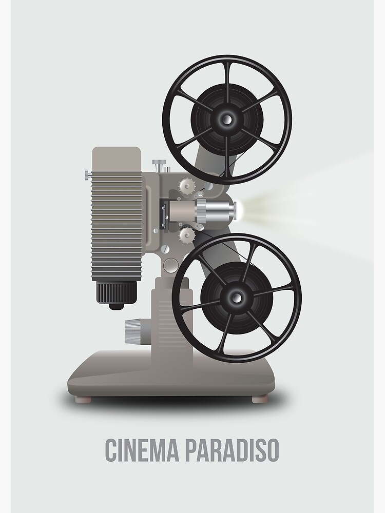 Cinema Paradiso - Alternative Movie Poster by MoviePosterBoy